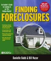 Finding Foreclosures PDF
