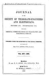 Proceedings of the Institution of Electrical Engineers: Volume 14