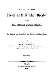 ein Beitrag zur Geschichte der Poesie des Mittelalters
