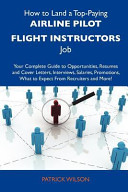 How to Land a Top-Paying Airline Pilot Flight Instructors Job