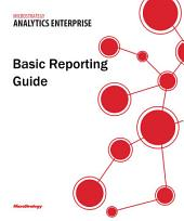 Basic Reporting Guide for MicroStrategy 9.5