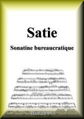 サティ 官僚的なソナチネ ピアノ・ソロ