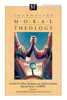 Journal of Moral Theology  Volume 10  Special Issue 2 PDF