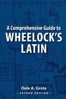 A Comprehensive Guide to Wheelock s Latin PDF