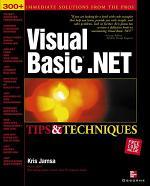 Visual Basic .NET Tips & Techniques