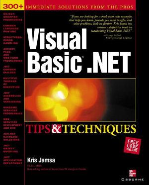 Visual Basic  NET Tips   Techniques