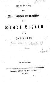 Erklaerung des Martinischen Grundrisses der Stadt vom Jahre 1597