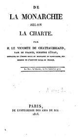 De la monarchie selon la Charte