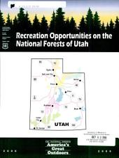 Recreation opportunities on the national forests of Utah