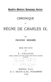 Chronique du règne de Charles IX ...