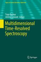 Multidimensional Time Resolved Spectroscopy PDF