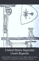 Download United States Supreme Court Reports Book