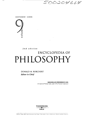 Encyclopedia of Philosophy