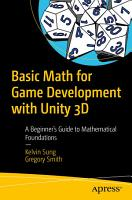 Basic Math for Game Development with Unity 3D PDF