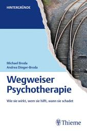 Wegweiser Psychotherapie: Wie sie wirkt, wem sie hilft, wann sie schadet