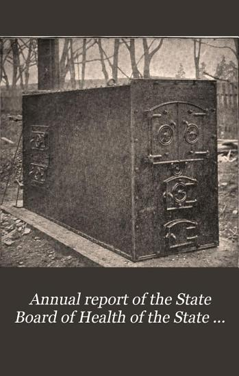 Annual report of the State Board of Health of the State of Rhode Island  1892 PDF