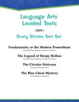 Leveled Texts  Scary Stories Text Set PDF