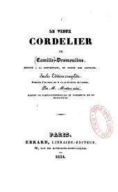 Le vieux cordelier de Camille Desmoulins