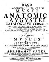 Regii in Academia ad Albim musei anatomici Augustei Catalogus universalis: cum appendice