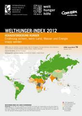 2012 Welthunger-Index nach Schweregrad