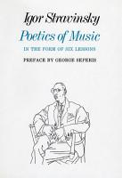 Poetics of Music in the Form of Six Lessons PDF