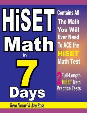 HiSET Math in 7 Days