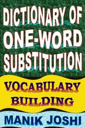 Dictionary of One-word Substitution: Vocabulary Building