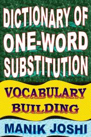 Dictionary Of One Word Substitution  Vocabulary Building