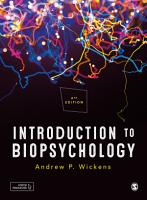 Introduction to Biopsychology PDF