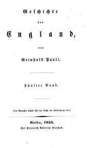 Geschichte von England: Band 5