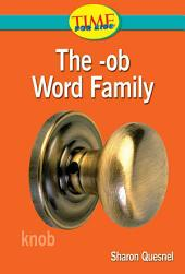 The -ob Word Family