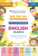 One for All Olympiad Previous Years' Solved Papers, Class-4 English Book (For 2022 Exam)
