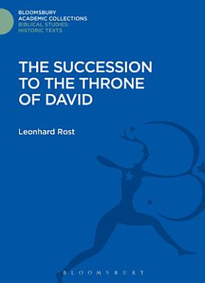The Succession to the Throne of David PDF