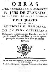 Obras del venerable P. maestro Fr. Luis de Granada de la Orden de Santo Domingo: Volumen 4