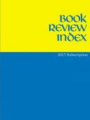Book Review Index 2017 PDF