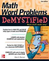Math Word Problems Demystified 2/E: Edition 2