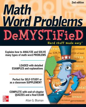 Math Word Problems Demystified 2 E