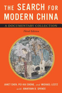 The Search for Modern China Book