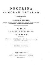 Numos Consulares Et Familiarum Subjectis Indicibus: Volume 5