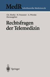 Rechtsfragen der Telemedizin