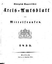Königlich Bayerisches Kreis-Amtsblatt von Mittelfranken: 1855