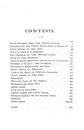 The Church Quarterly Review: Volume 35