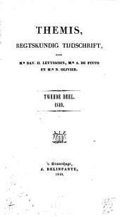Themis: verzameling van bijdragen tot de kennis van het publiek- en privaatrecht, Volume 2