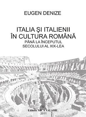 Italia si italienii in cultura romana PDF
