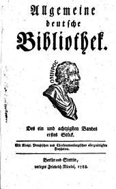 Allgemeine deutsche Bibliothek: Band 81