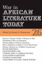 War in African Literature Today PDF