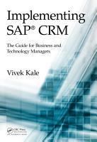 Implementing SAP CRM PDF