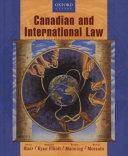 Canadian and International Law PDF