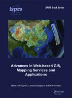 Advances in Web based GIS  Mapping Services and Applications PDF