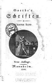 Goethe's Schriften: Band 4